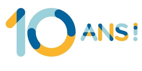 10 ans logo