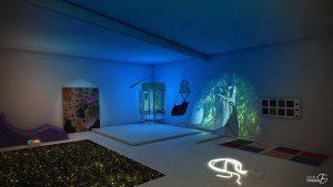 Salle blanche (stimulation sensorielle)