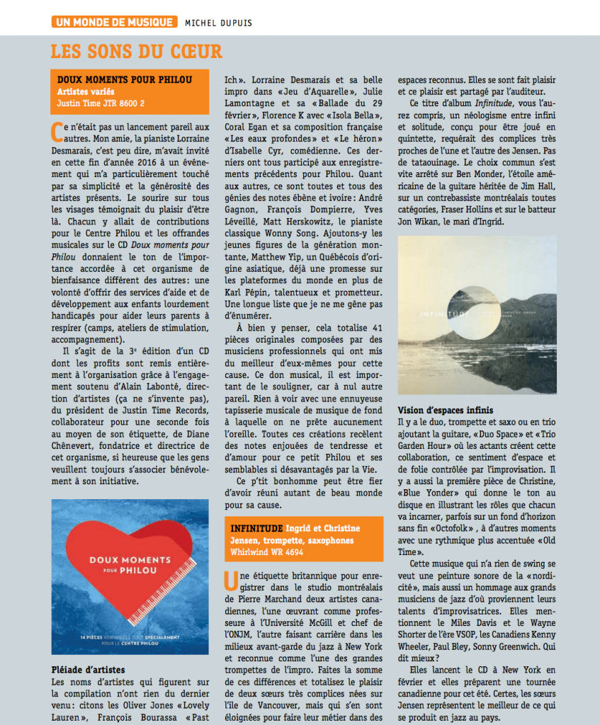 Magazine Son et Image_Vol. 18_No.2_page 54 - Doux moments pour Philou